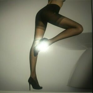 Wolford Synergy 20 Push-up Panty Tights Color Black Extra Large 18394 - 12