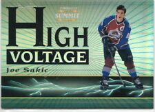96/97 1996-97 Summit High Voltage #2 Joe Sakic Avalanche/1500