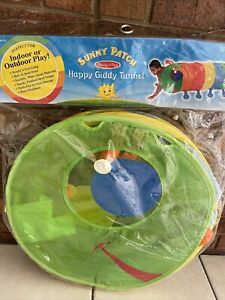 Melissa & Doug Happy Giddy Play Tunnel Sunny Patch