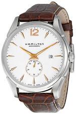 Hamilton Jazzmaster Brown Leather Mens Automatic Watch H38655515-AU