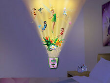 Wild Walls DISNEY FAIRIES wall stickers 10 decals with LIGHT & SOUNDS Tinkerbell