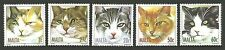British Colonies and Territories Cats Stamps
