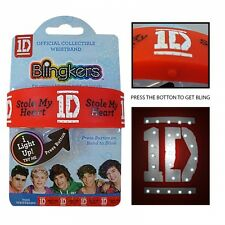 One Direction 'Blingkers' Wristband Unisex Accessories Brand New Gift