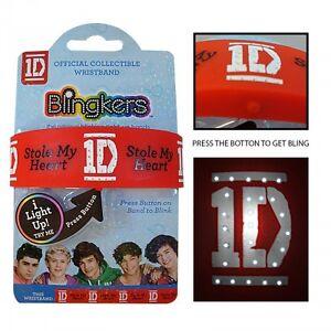 One Direction 'Blingkers' Bracelet Unisexe Accessoires Cadeau Tout Neuf