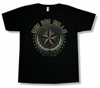 Goo Goo Dolls Star Rest of US 2011 Tour Black T Shirt New Official Band Merch