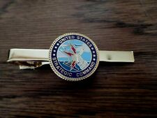 U.S MILITARY AIR FORCE STRATEGIC AIR COMMAND TIE BAR OR TIE TAC CLIP ON TYPE