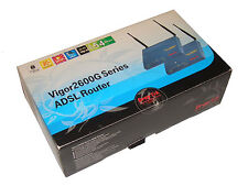 Draytek Vigor 2600gi 2600 Gi 54Mbps SANS FIL ADSL Routeur RNIS COMME NEUF 30
