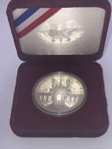 1984-S Olympic Proof Silver Dollar Los Angeles XXlII Olympiad $1 Coin w/case