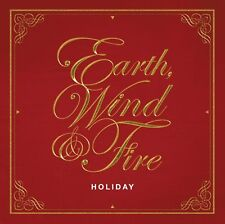 Earth, Wind & Fire Holiday CD NEW SEALED Christmas Joy To The World/Sleigh Ride+