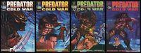 Predator Cold War Comic set #1-2-3-4 Lot Dark Horse Ron Randall Bagged & Boarded