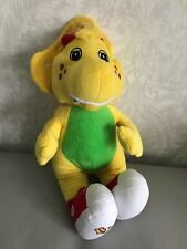"""Barney and Friends - Bj the Yellow Dinosaur Soft Plush toy - 15"""" 2013 Whitehouse"""