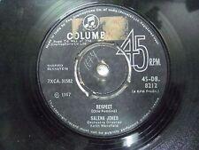 "SALENA JONES 45 DB 8212 RARE SINGLE 7"" INDIA INDIAN 45 rpm VG+"