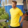 Fruit Of The Loom Mens Short Sleeve Crew Neck Heavy Cotton T-Shirt - 61212