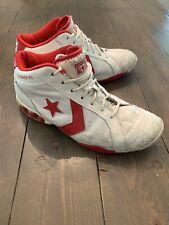 2005 Converse All-Star Icon Pro Leather SZ 12 Dwyane Wade Miami Heat PE 1T334