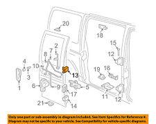 GM OEM Front Door-Striker Plate 21121836
