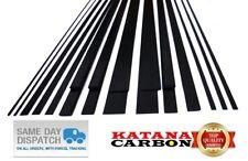 1 x Carbon Fiber Strip Pultruded 1mm Thickness x 3mm 5mm 10mm Width x 800mm