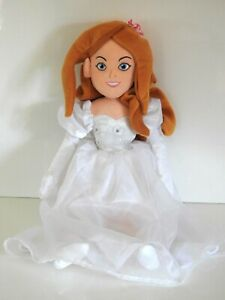 """Disney Store Exclusive Giselle Enchanted Rag Doll Soft Plush Cuddly Toy 19"""""""