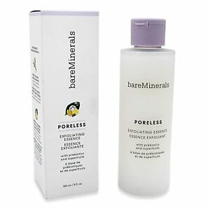 bareMinerals Poreless Exfoliating Essence Toner 5 oz 150 ML New in Box