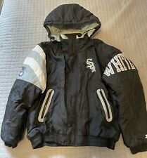 New listing Chicago White Sox Winter Jacket Parka Hooded Quilted Baseball Warm Starter Large