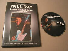 *New* Will Ray Street Survival Guide to Scales - G&L, Fender GTRS***
