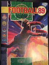 Panini Football 89 1989, fantastic condition, original order forms