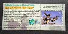 Wtdstamps - 2008 Washington - State Duck Stamp - Mint Og Nh