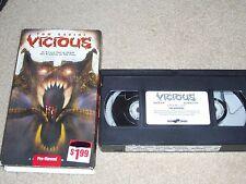 Vicious ( VHS, 2003) HORROR, Tom Savini