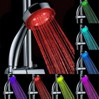 7Color Shower Head LED Glow Funny Home Bathroom Light Water Bath Shower Head g