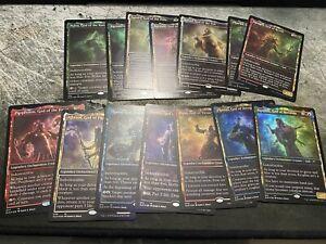14 FOIL Card Lot Stargazing Secret Lair (NM) MTG All Gods Except Mogis