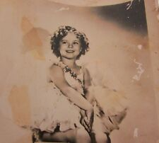 Shirley Temple Baby Takes a Bow Post Card Photo Foreign 1934