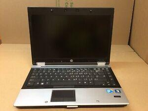 "HP EliteBook 8440p laptop 14"" i7-620M@2.67GHz 4GBRAM 500GBHDD Win10"