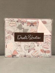 Dwell Studio Baby Blanket,Arden Butterfly Print Baby Girl Stroller Blanket New