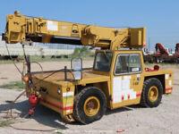 Grove AP308 17,000 lbs 8.5-Ton Carry Carry-Deck Mobile Crane  Jib bidadoo Repair