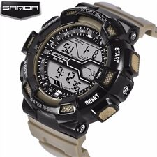 2017 Hot Brand Mens Sports Watches LED Digital  Waterproof G Style Shock Mi