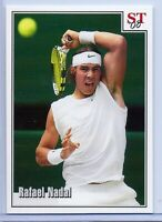 RAFAEL NADAL 2008 WIMBLEDON VS. FEDERER SPOTLIGHT TRIBUTE TENNIS CARD! RARE!