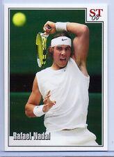 RAFAEL NADAL 2008 WIMBLEDON VS. FEDERER SPOTLIGHT TRIBUTE TENNIS CARD! RARE!