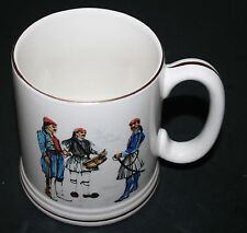 """THE GREEK GUARD"" Lord Nelson Pottery Mug  Hand Crafted England 9-76"