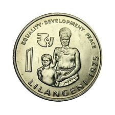 elf Swaziland 1 Lilangeni 1975 FAO  Intl Year of the Woman