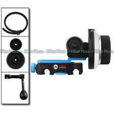 FOTGA DP3000 QR DSLR Follow Focus Clamp for 15mm Rod Rig +Speed Crank +Gear+Belt