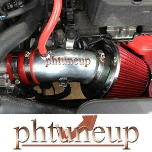 RED  FIT FOR 2011 2012 Hyundai Veloster Accent 1.6 1.6L L4 GDi AIR INTAKE KIT