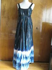 Saks Fifth Avenue Women's Cotton Maxi Long Dress Size 10 new