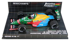 Minichamps Benetton B188 First F1 Test 1990 - Mika Hakkinen 1/43 Scale