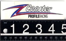 Profile Racing Sticker Profile Racing Z Coaster Cycling Bmx Riding Sticker Decal