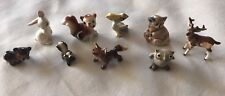 FAIRY GARDEN Assorted Miniature Collectible Animals (Lot of 9)