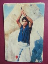 AAMIR KHAN INDIAN MOVIE ACTOR BOLLYWOOD Picture postcard 15  X 10 CM Q 1