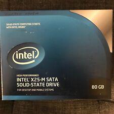 Intel X25-M SATA Solid State Drive, 80GB NEW IN BOX