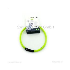 Hunter LED Silikon Leuchtschlauch / Halsband Yukon  Sitz 20-70cm - kürzbar
