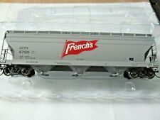 Intermountain # 47085 French's ACF 4650 CU. FT. 3-Bay Hopper HO Scale