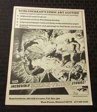 1981 Russ Cochran's COMIC ART AUCTION Catalog #6 FN+ 6.5 Frazetta Barks 20pgs