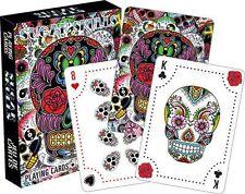 SUGAR SKULLS - PLAYING CARD DECK - 52 CARDS NEW - 52434